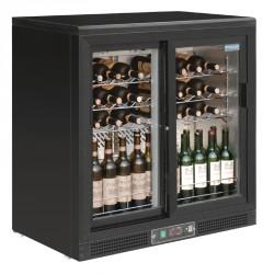 Cava de vinos 56 botellas puertas correderas