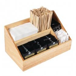 Caja de madera organizadora de sobres