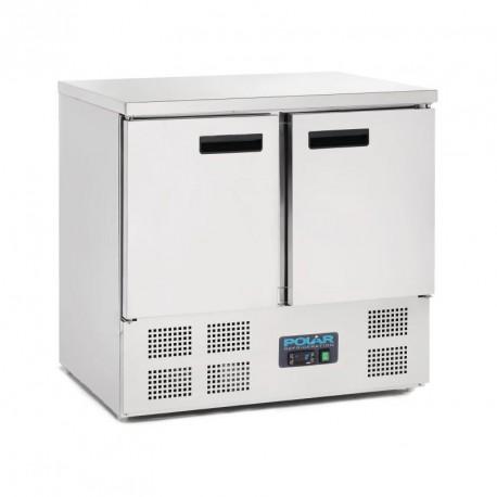 Bajomostrador refrigerado de 2 puertas