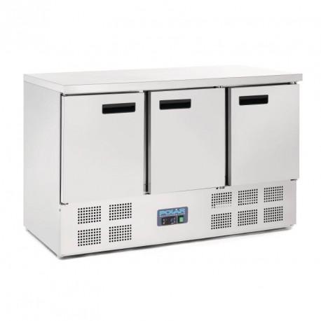 Bajomostrador refrigerado de 3 puertas