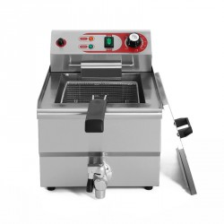 Freidora sobremesa 10L (4,25KW) c/grifo