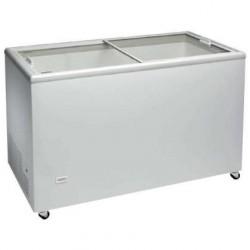 Congelador horizontal 1503x670x895mm puertas deslizantes de cristal