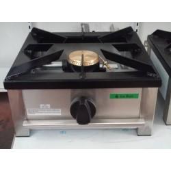 Fogón gas sobremesa 1 fuego 400x400mm
