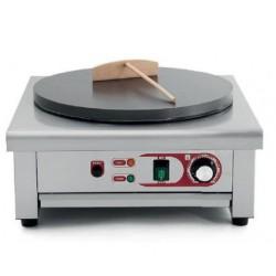 Crepera eléctrica con placa simple 400mm