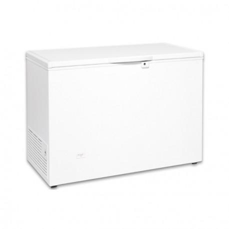 Congelador horizontal 1170x600x850mm puerta ciega abatible