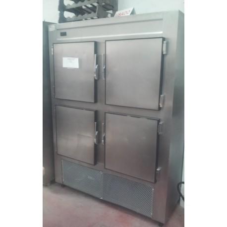 Armario refrigerado 4 puertas inoxidable segundamano