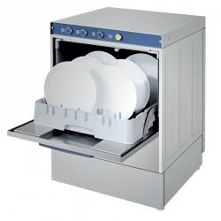 Lavavajillas industrial cesta 50x50cm de medidas 590x600x810mm con bomba de desagüe gama económica