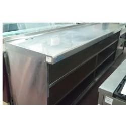 Mueble estantería trasbarra 2500x600x1050mm segundamano
