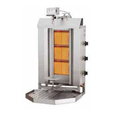 Máquina de kebab de 40kg de capacidad