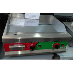 Plancha fry-top a gas cromo duro 650mm