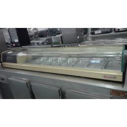 Vitrina refrigerada de tapas 8 bandejas segundamano