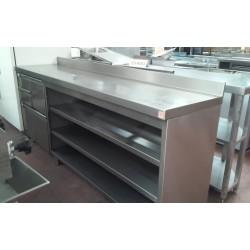 Mueble cafetero 2500x600x1050mm seminuevo
