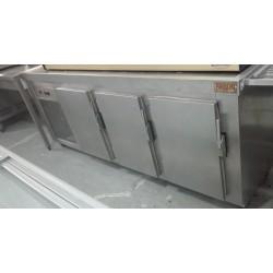Bajomostrador refrigerado 3 puertas segundamano